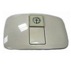 Крышка бачка Бейсик с клавишей, белая, GUSTAVSBERG 1929900283